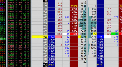 Сделка по ленте и стакану облигации США ZN 14.08
